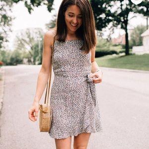 Abercrombie & Fitch Tie Waste Mini Dress